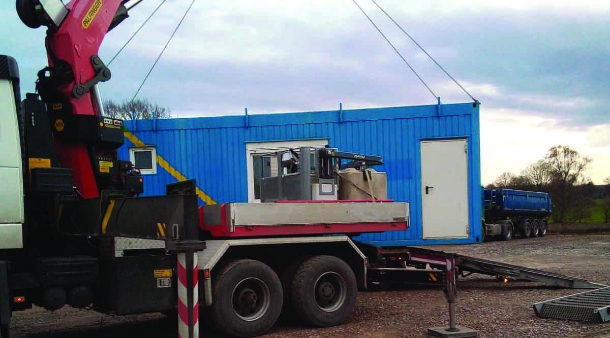 Spezialtransport Bernemann Umsetzungen Container Baustellenservice