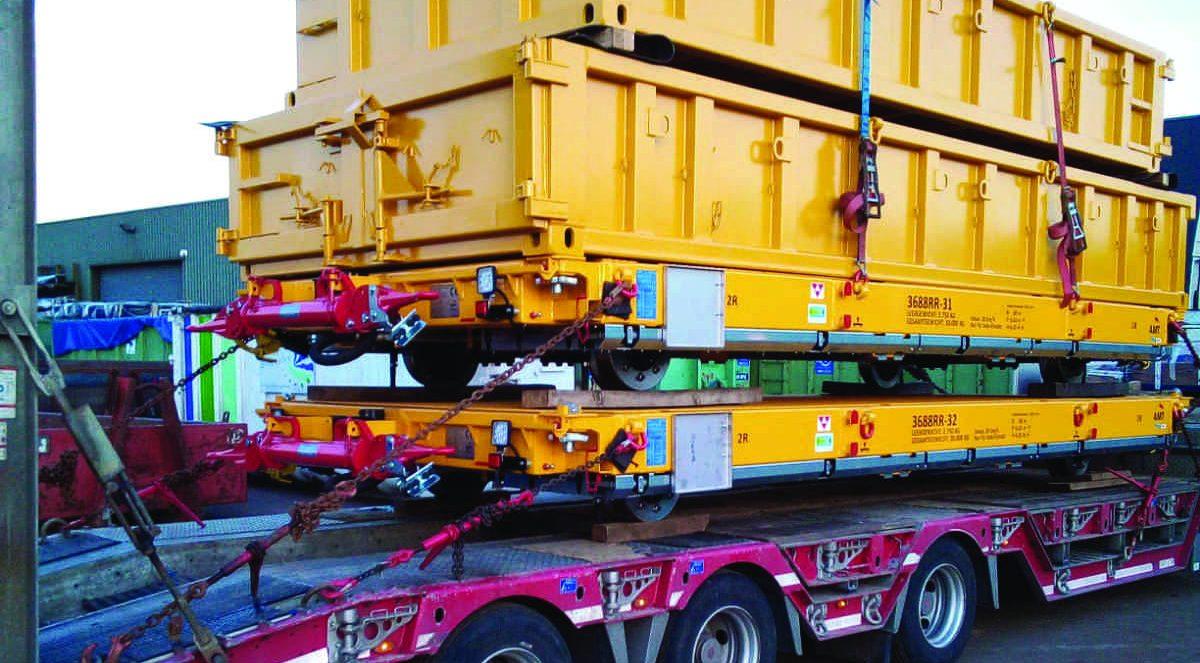 Schwetransport Bernemann Umsetzungen Container Baustellenservice